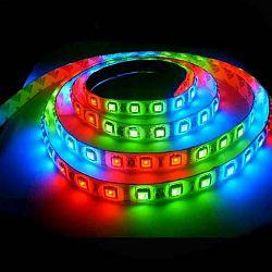 Berge LED pásek 5m RGB 60LED/m 14.4W/m voděodolný-silikon