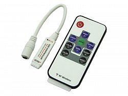 Berge RGB kontroler RF (radio) s ovladačem pro LED pásky 144W 10 tlačítek