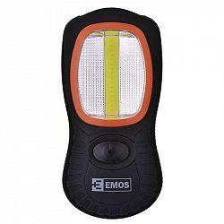 Emos COB LED + LED pracovní svítilna P3883, 200 lm, 3× AAA