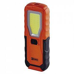 Emos COB LED + LED pracovní svítilna P4110, 360 lm, 4× AA