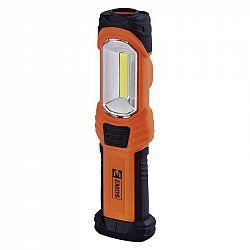 Emos COB LED + LED pracovní svítilna P4111, 350 lm, 3× AA