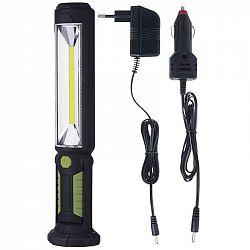 Emos COB LED + LED pracovní svítilna P4525,500 lm,Li-Ion 2000 mAh