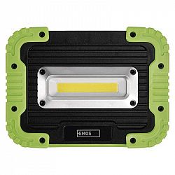 Emos COB LED nabíjecí pracovní reflektor P4533, 1000 lm, 4400 mAh