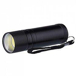 Emos COB LED ruční kovová svítilna P3894, 100 lm, 3× AAA