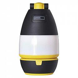 Emos LED multifunkční kempingová svítilna P4008, 215 lm, 3× AA