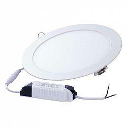 Emos LED panel 175mm, kruhový vestavný bílý, 12W teplá bílá ZD1131 ZD1131