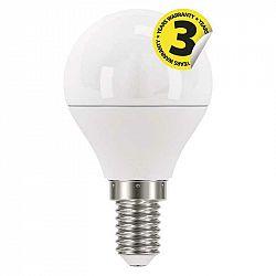 Emos LED žárovka Classic Mini Globe 6W E14 teplá bílá ZQ1220