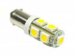 Interlook LED auto žárovka 12V LED BA9S 9SMD5050 T4W 2W Teplá bílá