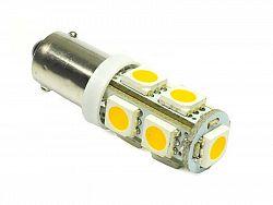 Interlook LED auto žárovka 12V LED BA9S H6W 9SMD5050 1,8W
