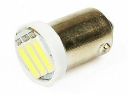 Interlook LED auto žárovka 12V LED BA9S T4W 3SMD7014 1W