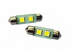 Interlook LED auto žárovka LED C5W 2 SMD 5050 31mm