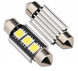 Interlook LED auto žárovka LED C5W 3 SMD 5050 CAN BUS 39mm