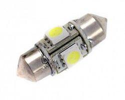 Interlook LED auto žárovka LED C5W 4 SMD 5050 360° 31mm