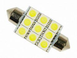 Interlook LED auto žárovka LED C5W 9 SMD 5050 39mm