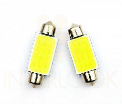 Interlook LED auto žárovka LED C5W COB 24 x CHIP HIGH POWER 31mm