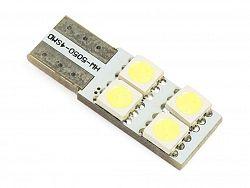 Interlook LED auto žárovka LED W5W T10 4 SMD 5050 side