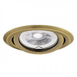 Kanlux 00330 ARGUS CT-2115-BR/M, průměr 95 mm - Podhledové bodové svítidlo