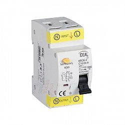 Kanlux 23216 KRO6-2/C10/30A Kombinace jistič-proudový chránič (pouze na indiv. objednání)