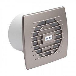 Kanlux 70973 CYKLON EOL 100B SF - Stříbrný ventilátor