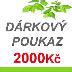 LED21 DÁRKOVÝ POUKAZ NA NÁKUP ZBOŽÍ V HODNOTĚ 2000,- Kč