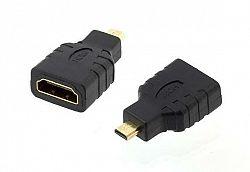 LED21 HD26 ADAPTER - REDUKCE HDMI MICRO HDMI GOLD