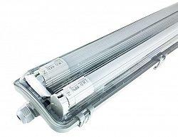 LED21 KOMPLET Prachotěsné svítidlo +2 LED trubice T8 9W 60cm Studená bílá SM260CW