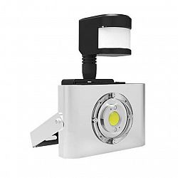 LED21 LED reflektor COB HQ s čočkou PIR 10W 850lm Neutrální bílá BRG10136