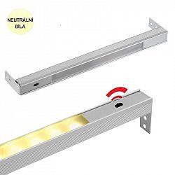 LED21 LED svítidlo POLARUS s čidlem pro zásuvky, NEUTRÁLNÍ BÍLÁ 414mm POLP-414-NU-01W