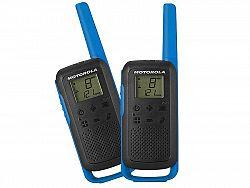 LED21 Motorola vysílačka TLKR T62 (2 ks, dosah až 8 km), modrá