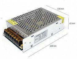 LED21 Napájecí zdroj 100W 8,3A 12V DC BRG50016