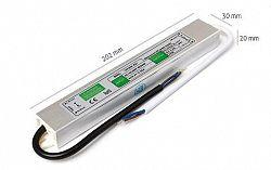 LED21 Napájecí zdroj 30W 2,5A 12V DC, voděodolný / venkovní BRG50009