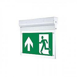 LED21 Nouzové LED přisazené svítidlo Emergency Exit Light 3W 3h