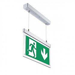 LED21 Nouzové LED závěsné svítidlo Emergency Exit Light 4W 3h