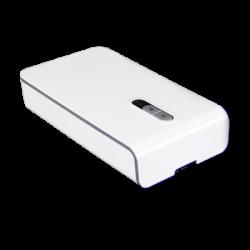 LED21 Přenosné germicidní pouzdro s UV-C sterilizační lampou a bezdrátovou nabíječkou, bílé UV764