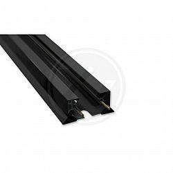 LED21 Přisazená lišta systému ZX 1-obvodová 2m, černá V4549