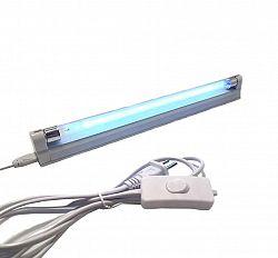 LED21 UV11 UV-UVC germicidní lampa s vypínačem 8W T5 ULTRAFIALOVÁ