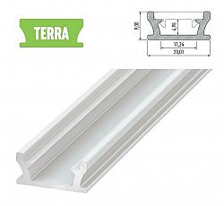 LEDLabs Hliníkový profil LUMINES TERRA 3m pro LED pásky, bílý lakovaný