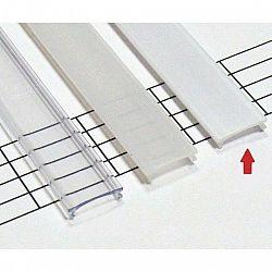 LEDLabs Mléčný difuzor KLIK pro profil TERRA, SCALA 1m