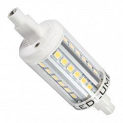 Ledlumen LED 4W - R7s náhrada malé halogenové trubice 36xSMD2835 78mm CCD Teplá bílá