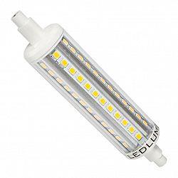 Ledlumen LED 7W - R7s náhrada velké halogenové trubice 72xSMD2835 860lm 118mm CCD Studená bílá