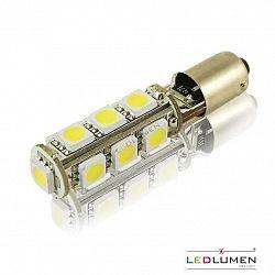 Ledlumen LED auto žárovka LED BA9S 13 SMD 5050 T4W CAN BUS