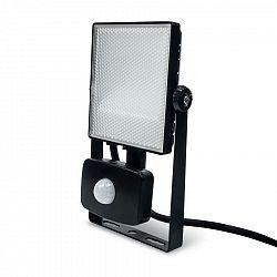Ledlumen LED reflektor PIR 10W SMD2835 1050lm ULTRA SLIM Studená bílá LU236