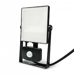 Ledlumen LED reflektor PIR 20W SMD2835 1850lm ULTRA SLIM Neutrální bílá LU237