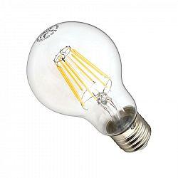 Ledlumen LED žárovka 8W 8xCOS Filament E27 890lm CCD TEPLÁ BÍLÁ STMÍVATELNÁ