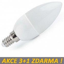 Ledspace LED žárovka 4W 320lm E14 Teplá bílá, 3+1 ZDARMA