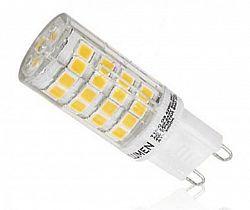 Ledspace LED žárovka 5W 51xSMD2835 G9 500lm TEPLÁ BÍLÁ