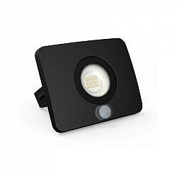 LUMAX LED reflektor 10W SURFI PIR 700lm SLIM Teplá bílá LFL410BS