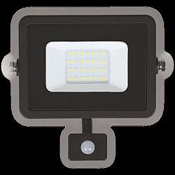 LUMAX LED reflektor 20W PLATI PIR 1500lm SLIM Neutrální bílá LFL103NS