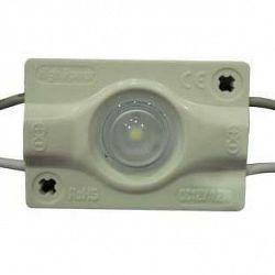 PREMIUMLUX LED Modul 1xSMD3030 s čočkou 1,2W 110lm 160° 12V STUDENÁ BÍLÁ