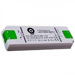 PREMIUMLUX Nábytkový LED napájecí zdroj FTPC50V12 50W 4,17A 12V LUX00265